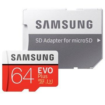 Tarjeta de Memoria MicroSDXC Samsung MB-MC64GA/EU Evo Plus - 64GB