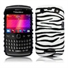 Covert Funda de Cuero para BlackBerry Bold Touch 9900, 9930 - Cebra