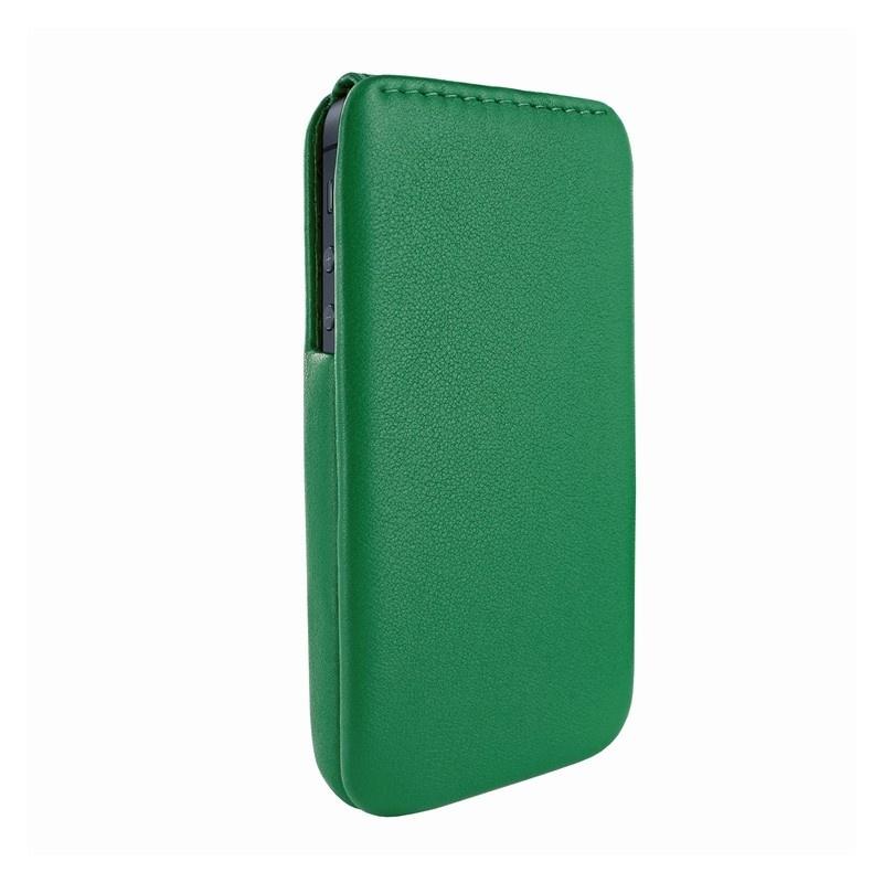 Piel frama imagnum funda de cuero para iphone 5 5s se verde - Funda de piel para iphone 5 ...