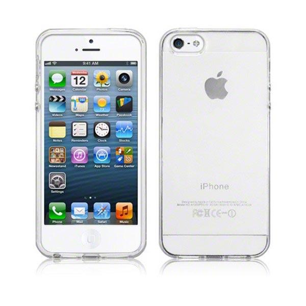 Funda de silicona para iphone 5 5s se claro - Fundas de silicona para iphone 5 ...